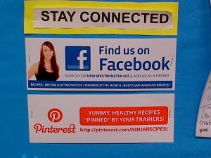 Facebook & Pinterest