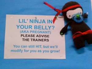 Lil' Ninja In Your Belly?