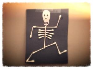 Q Tip Skeleton