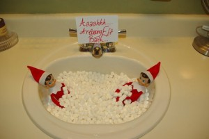 Elf Marshmallow Bath