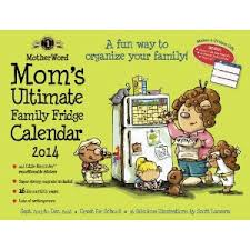 Mom's Ultimate Fridge Calendar