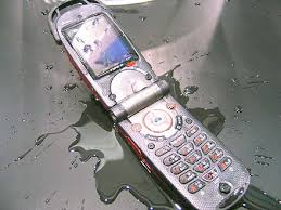 Wet cell phone