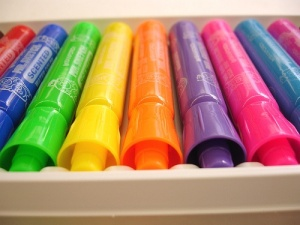 Smelly markers