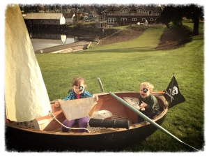 Aaaarrrr, me matey!  A random pirate ship fir the kiddos.