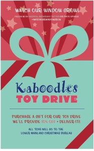 Kaboodles Toy Drive