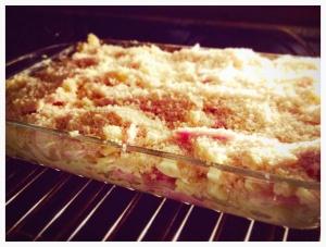Chicken Cordon Bleu Pasta Bake