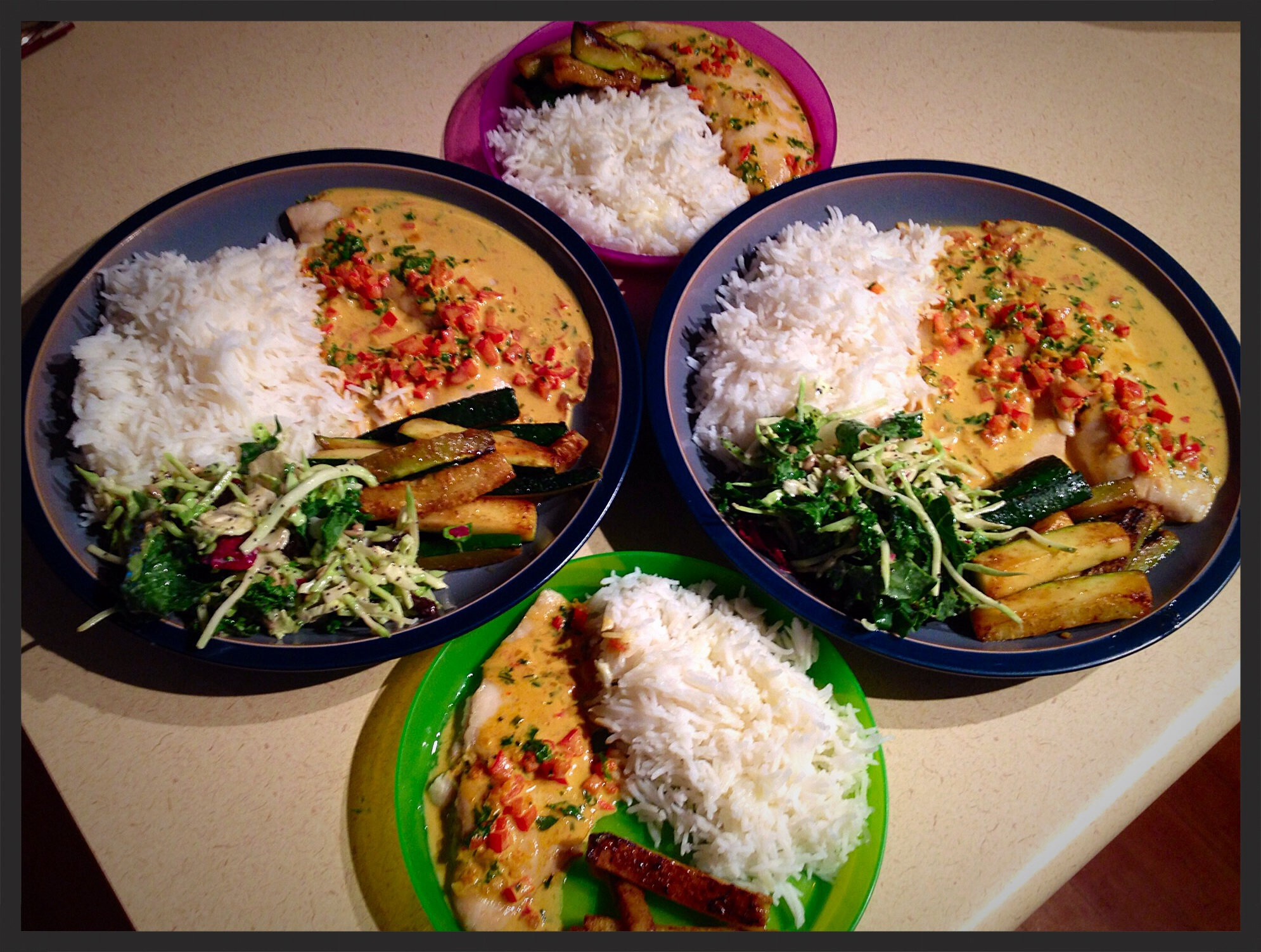 Broiled Tilapia With Thai Coconut Curry Sauce Recipe ...