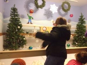 Tossing snowballs